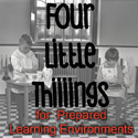 Four Little Things - for prepared learning environments