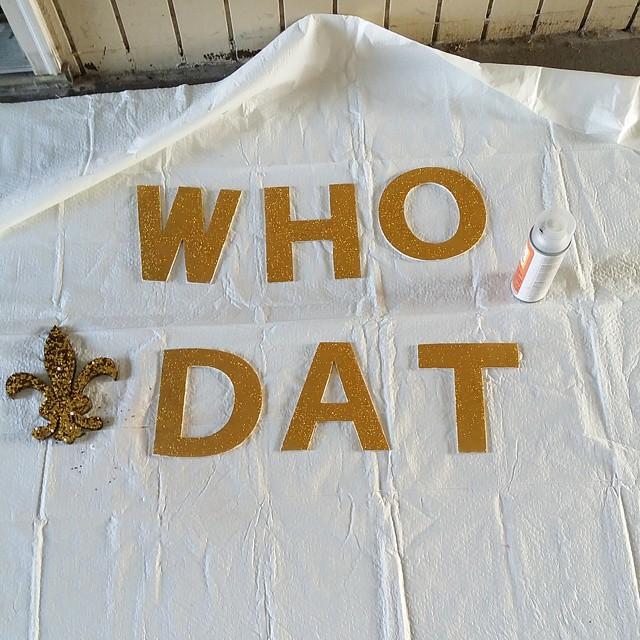 Good morning! Let's GO!!! #saints #whodat #nola #nolasaints #neworleanssaints #neworleans
