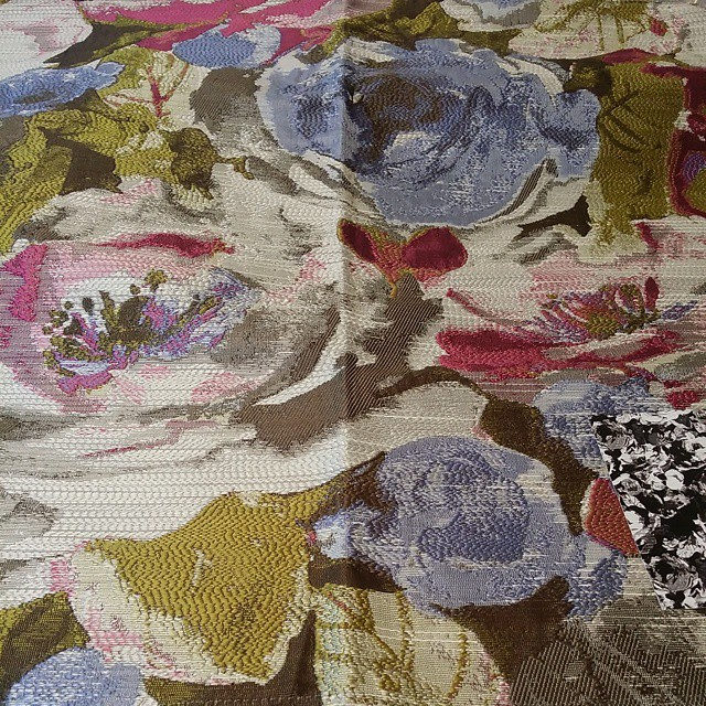 If my client agrees to go with this fabric for her custom drapery panels, my