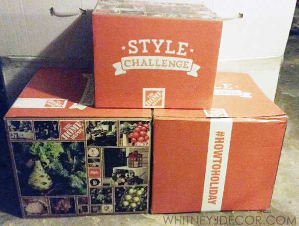 home depot boxes