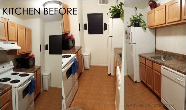 apartment kitchen before photos