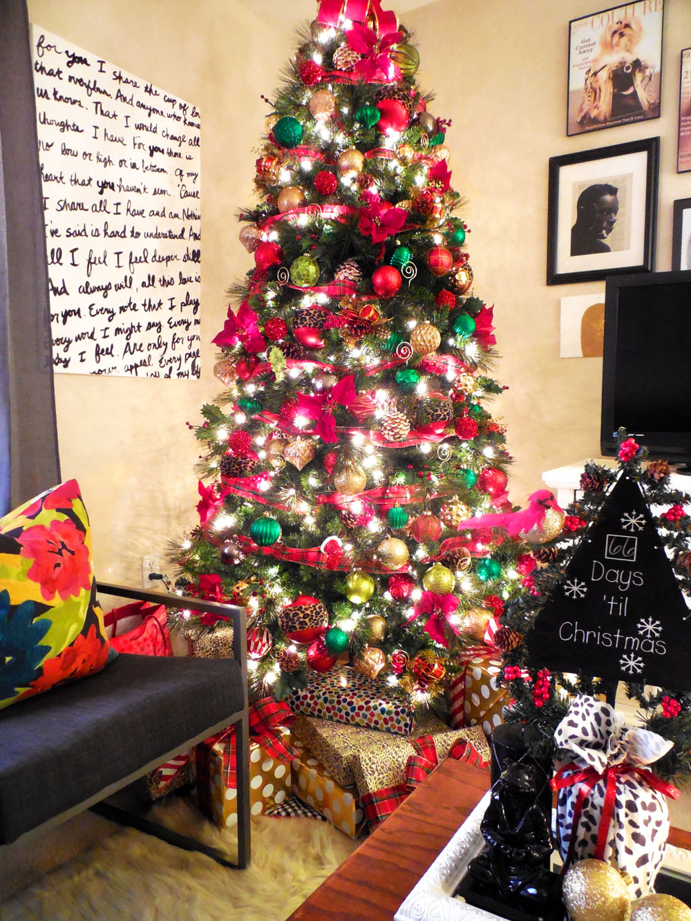 Home Depot Style Challenge How I Decorated My Christmas Tree Whitney J Decor Bloglovin