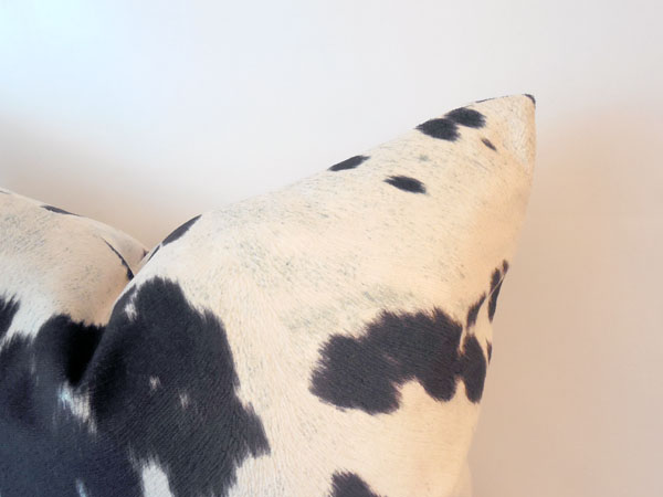 cow print pillow 2