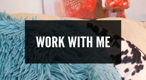 work with me footer button