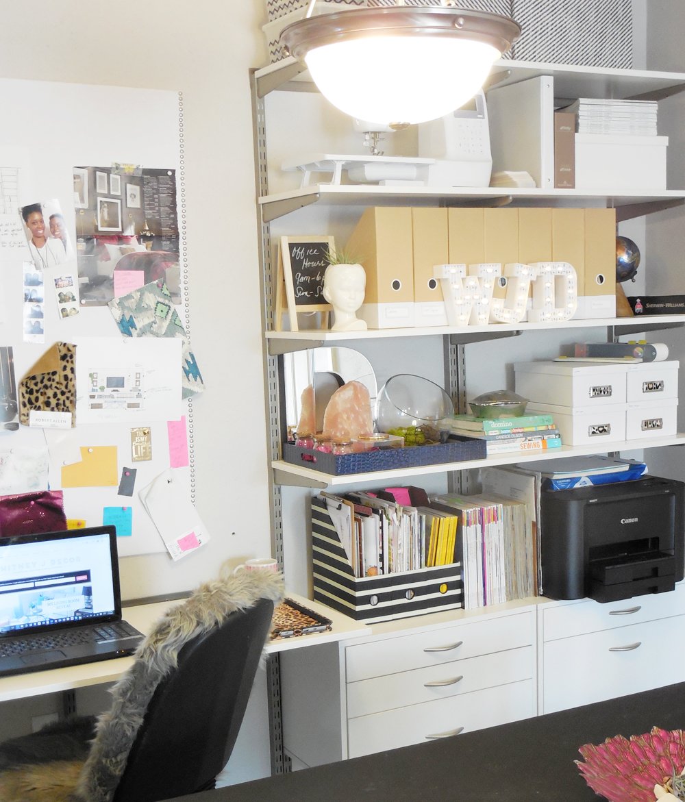 Home Office Decor Reveal: My Small Home Office Reveal