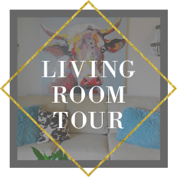 my living room tour