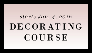 home decor decorating course