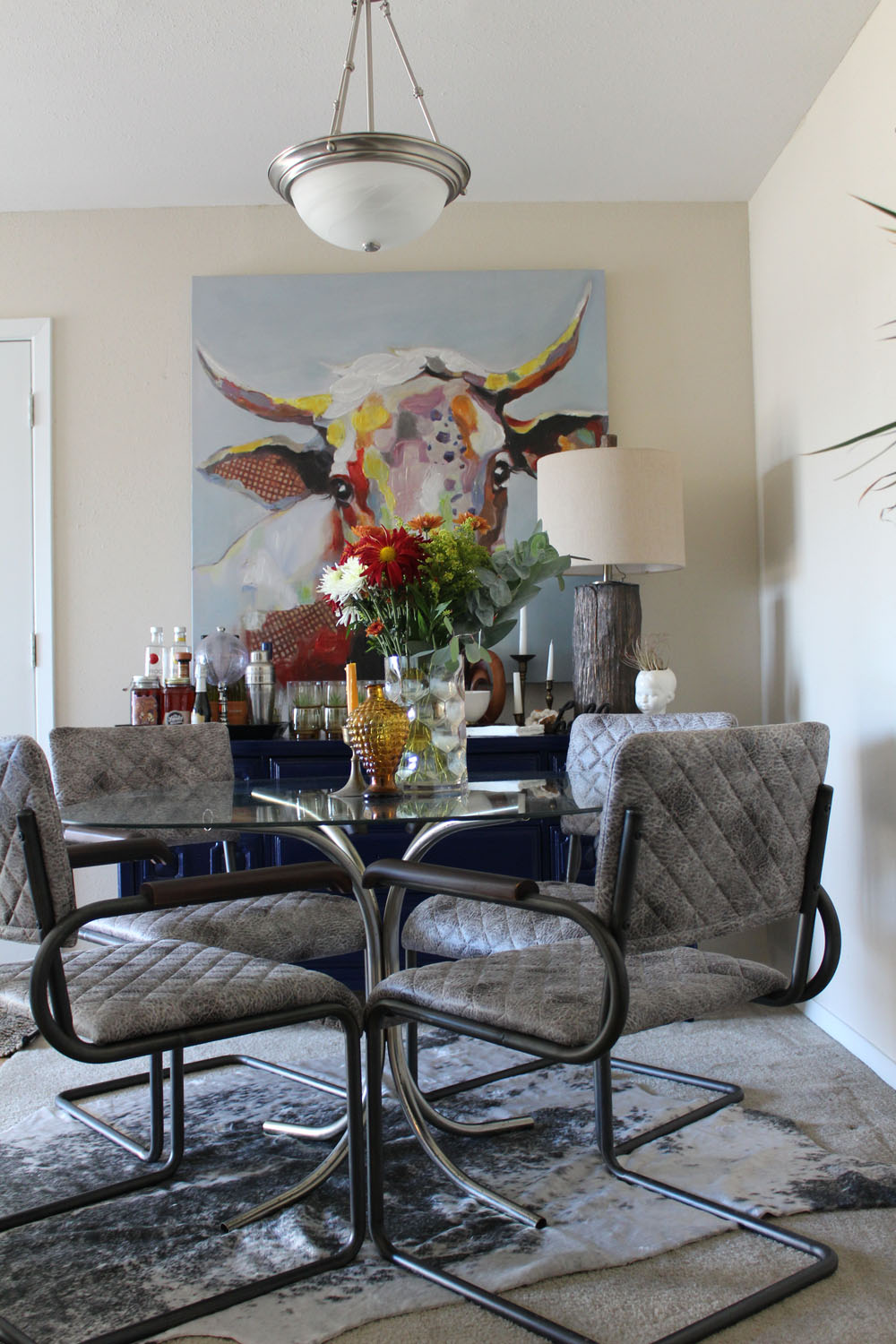 10 Large Living Room Ideas To Fall In Love With: Bold, Eclectic Home Tour For The #FABFALLFEST