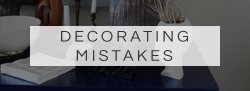 decorating mistakes